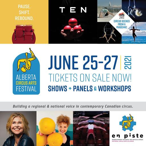 Alberta Circus Festival poster