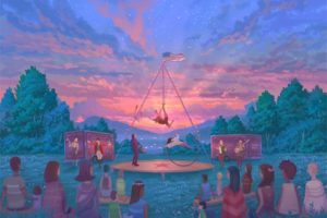 Hideaway Circus Launches Northeast Tour of Stars Above Circus