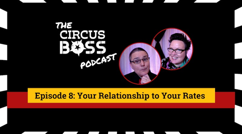 Circus Boss Podcast episode 8 graphic