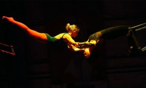 Catching Inspiration: Courtlynn Crowe First Female Trapeze Catcher in Peru Amateur Circus History