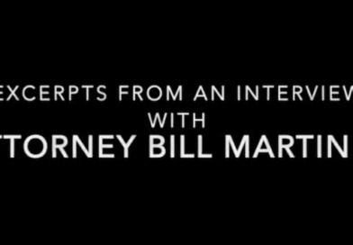 Excerpts from an interview with attorney Bill Martinez