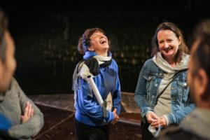 MagdaClan's Annalisa Bonvicini laughs amongst friends