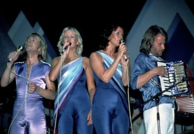 ABBA band members performing live