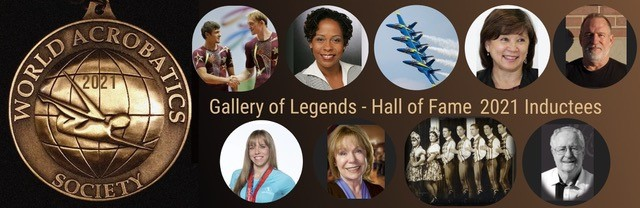 the 2021 inductees into WAS' Gallery of Legends