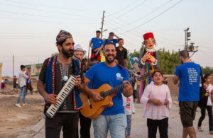 S.F. Composer Revives Festival Bringing Music and Circus Arts to Displaced Children in Turkey
