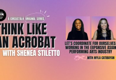 series banner with pictures of Shenea Stiletto and Myla Catibaya