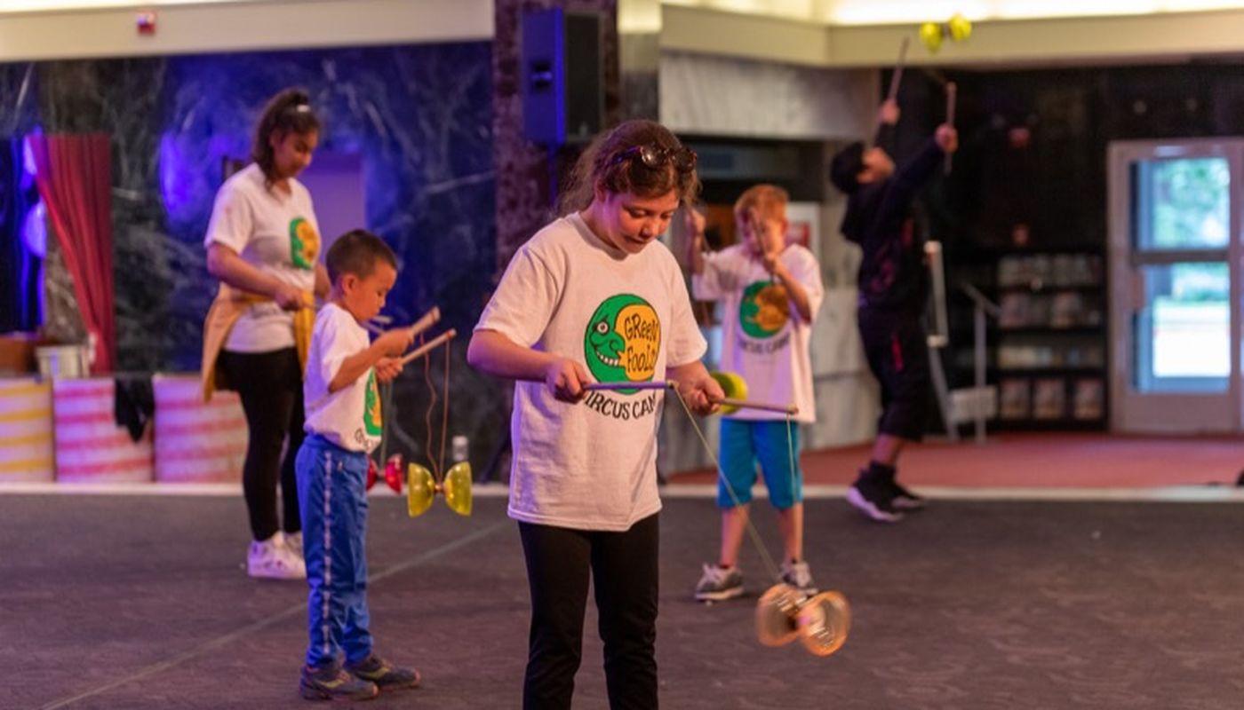 Beginner Circus and Aerial Camp (Ages 10-11) - Circus Events - CircusTalk