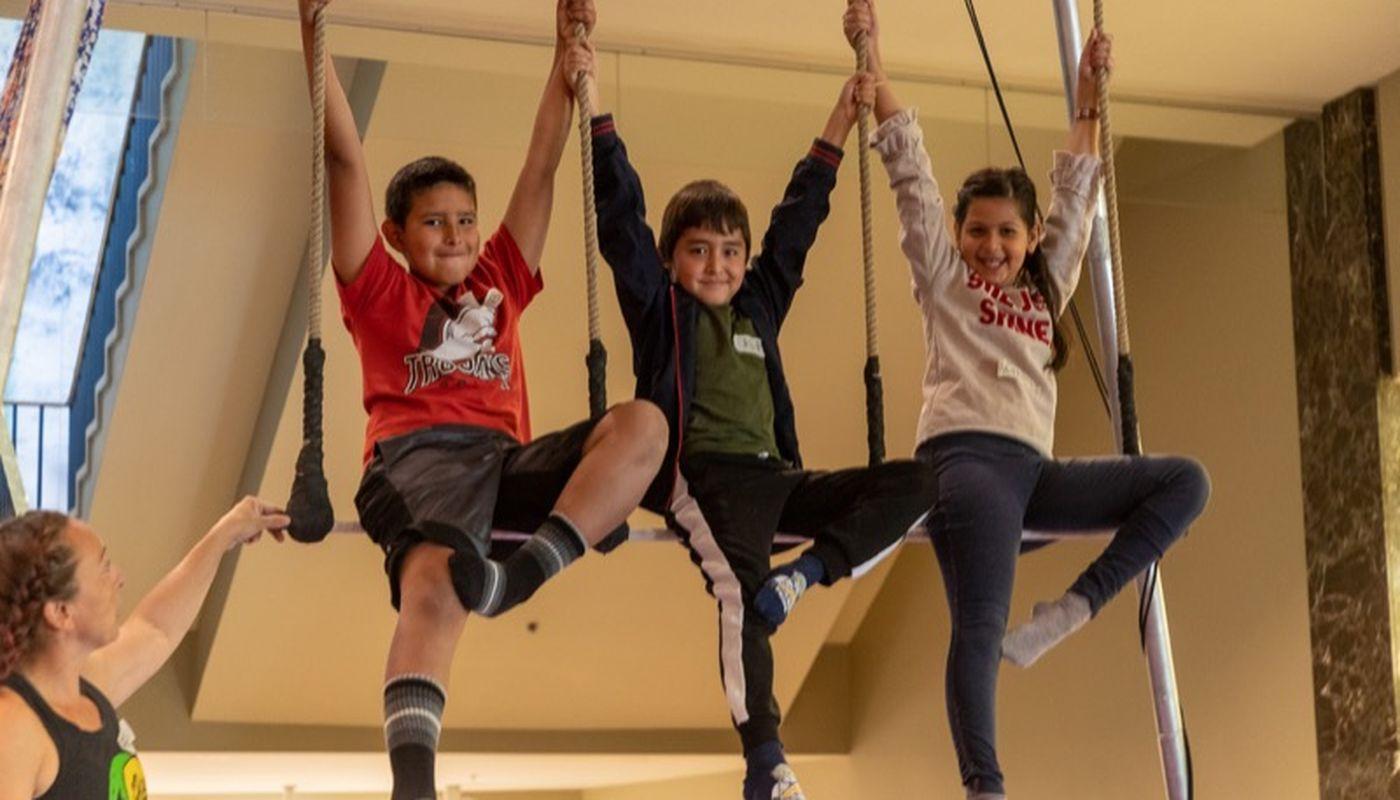 Beginner Circus and Aerial Camp (Ages 8-9) - Circus Events - CircusTalk