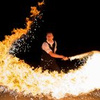 Black & White firedance show - Circus Shows - CircusTalk
