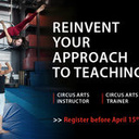 Circus Arts Instructor and Trainer Application Deadline - Circus Events - CircusTalk