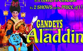 GANDEY'S CIRCUS OF ALADDIN The Theatre Big Top