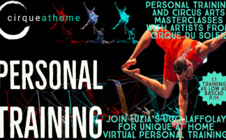 CIRQUEATHOME PERSONAL TRAINING with UGO